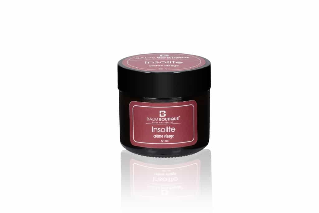 Krem z oliwą - świeży i zdrowy | insolite crème visage 50ml