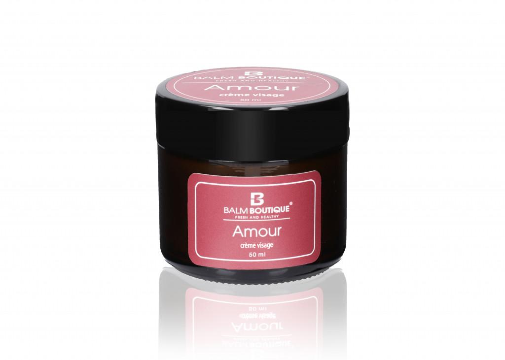 Krem z oliwą - świeży i zdrowy | amour crème visage 50ml